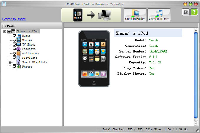 How do i get music from my iPod onto my computer « A Blog